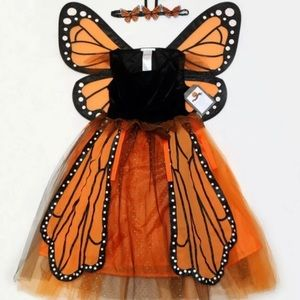 NWT Pottery Barn Kids Monarch costume DRESS